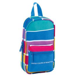 Mochila 4 portatodo completos United Colors of Benetton Stripes