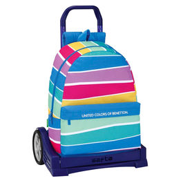 Trolley United Colors of Benetton Stripes 46cm carro Evolution