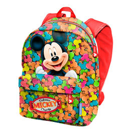 Mochila Freetime Mickey Disney Candy 34cm