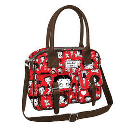 Bolso Attache Betty Boop Rouge