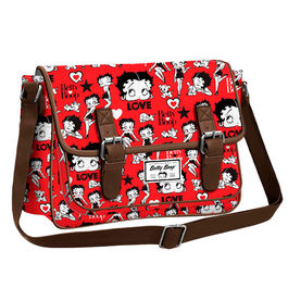 Bolso Satchel Betty Boop Rouge
