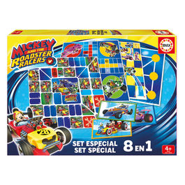 Set juegos 8 en 1 Mickey and The Roadster Racers Disney
