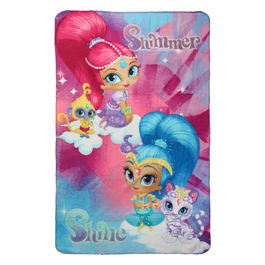 Shimmer and Shine polar blanket