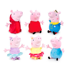 Peluche Peppa Pig Ready For Fun 19cm surtido