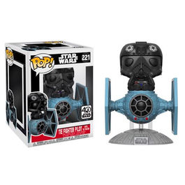 Figura Vinyl POP! Star Wars Tie Fighter with Tie Pilot Limited 15cm