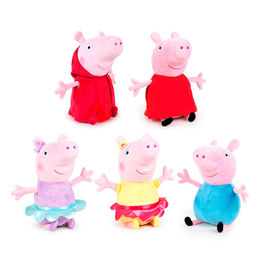 Peluche Peppa Pig Ready For Fun 45cm surtido