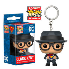 Llavero Pocket POP! DC Superman Clark Kent