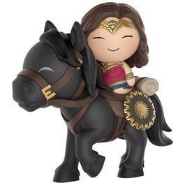Figura Vinyl Dorbz DC Wonder Woman on horse