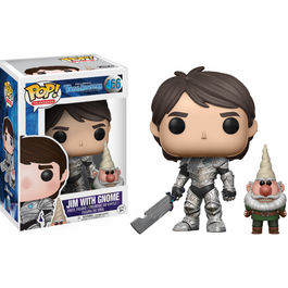Figura POP! Vinyl Trollhunters Jim armored with gnome