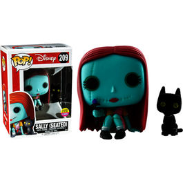 Figura POP! Vinyl Nightmare Before Christmas seated Sally with cat Limited