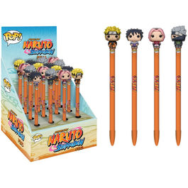 Assorted Naruto Pen Toppers