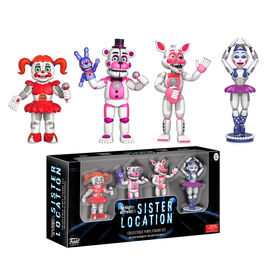 Set 4 figuras Five Nights at Freddy's