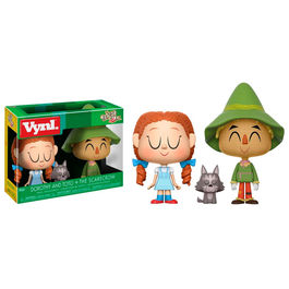 Figuras Vynl Wizard Of Oz Dorothy con Toto y The Scarecrow