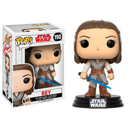 Figura Bobble POP! Star Wars Episode VIII The Last Jedi Rey