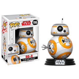 Figura Bobble POP! Star Wars Episode VIII The Last Jedi BB-8