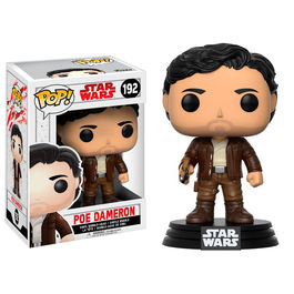 Figura Bobble POP! Star Wars Episode VIII The Last Jedi Poe Dameron