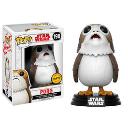 Figura Bobble POP! Star Wars Episode VIII The Last Jedi Porg Chase