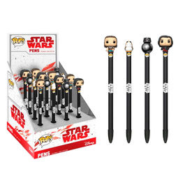 Boligrafo Toppers POP! Star Wars Episode VIII The Last Jedi