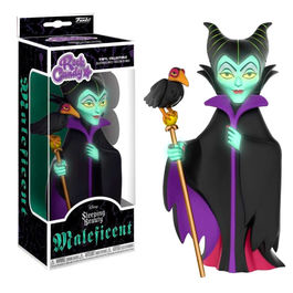 Rock Candy vinyl figure Disney Maleficent Glow in the Dark