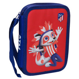 Plumier Atletico Madrid doble completo