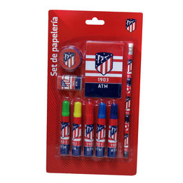 Set papeleria Atletico Madrid 9pz