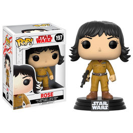 Figura Bobble POP! Star Wars Episode VIII The Last Jedi Rose