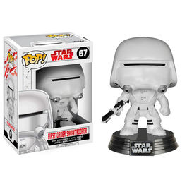 Figura Bobble POP! Star Wars Episode VIII The Last Jedi First Order Snowtrooper