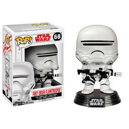 Figura Bobble POP! Star Wars Episode VIII The Last Jedi First Order Flametrooper
